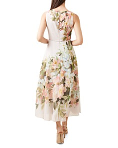 HOBBS LONDON - Carly Floral Print Midi Dress