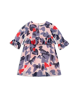 kate spade new york Girls Confetti Hearts Peplum Dress  Little Kid
