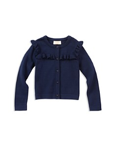 kate spade new york Girls' Ruffled Cardigan - Little Kid - Bloomingdale's_0