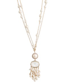 "Carolee Cultured Freshwater Pearl Tasseled Pendant Necklace, 18"" or 36"" - Bloomingdale's_0"