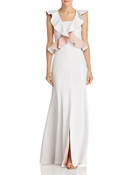C/MEO Collective - Elation Ruffle-Bodice Gown - 100% Exclusive