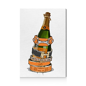 Oliver Gal Arm Candy Champagne Canvas Art, 16 x 24