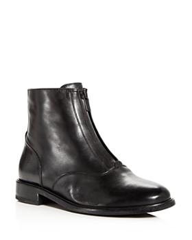 Frye - Women's Kelly Waxed Leather Booties