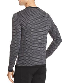 Armani - Triangle Pattern Pullover