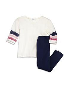Splendid Girls' Striped Tee & Leggings Set - Little Kid - Bloomingdale's_0