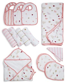 Aden and Anais Heart Breaker Swaddles, Bibs, Hooded Towel & Blanket - Bloomingdale's_0