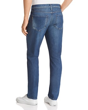 PAIGE - Lennox Skinny Fit Jeans in Oil Well