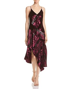 Parker Selma Metallic-Stripe Dress