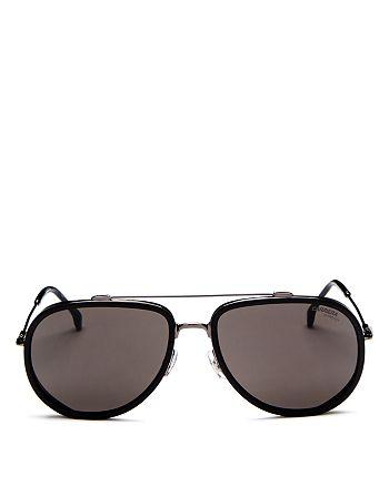 Carrera - Women's Brow Bar Aviator Sunglasses, 59mm