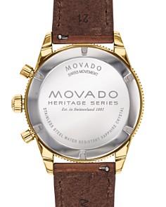 Movado - Calendoplan Chronograph, 42mm