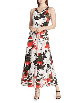 Calvin Klein Printed Maxi Dress Bloomingdale S