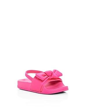 Steve Madden Girls' Silk Slingback Pool Slide Sandals - Toddler