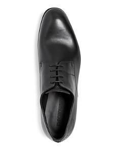 Armani - Men's Leather Plain Toe Oxfords