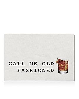 Oliver Gal - Mr Old Fashioned Canvas Art