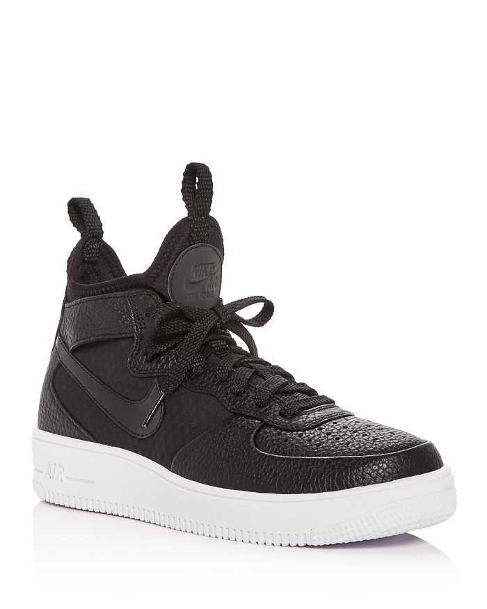 uk availability df965 45d1e Nike - Women s Air Force 1 Ultraforce Leather Mid Top Sneakers