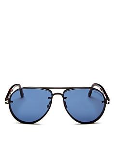 Tom Ford - Men's Alexi Brow Bar Aviator Sunglasses, 62mm