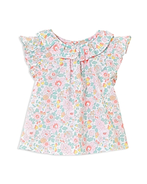 Jacadi Girls Ruffled Floral Tunic  Baby