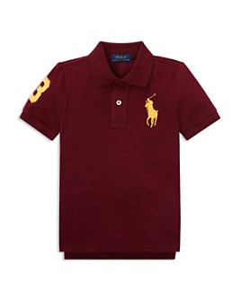 Ralph Lauren - Boys' Stretch Cotton Big Pony 3 Polo - Little Kid