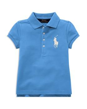 Ralph Lauren - Girls' Big Pony Stretch Polo - Little Kid