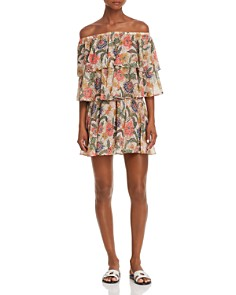 Show Me Your MuMu - Tiered Off-the-Shoulder Romper