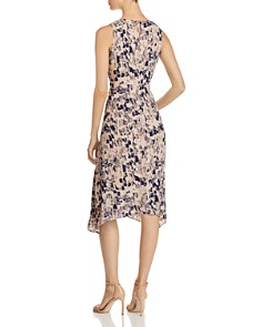NIC and ZOE - Petal or Nothing Shirred Midi Dress