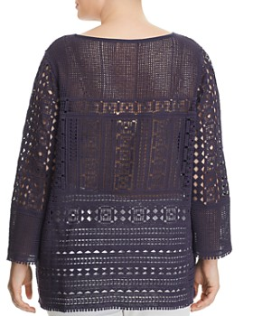 NIC and ZOE Plus - Romance Lace Top
