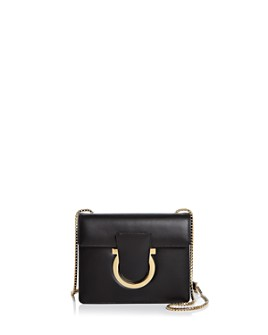 Salvatore Ferragamo - Thalia Small Leather Convertible Shoulder Bag