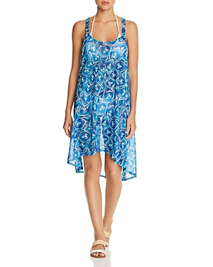 Profile by Gottex Tribal Batik Dress Swim Cover-Up