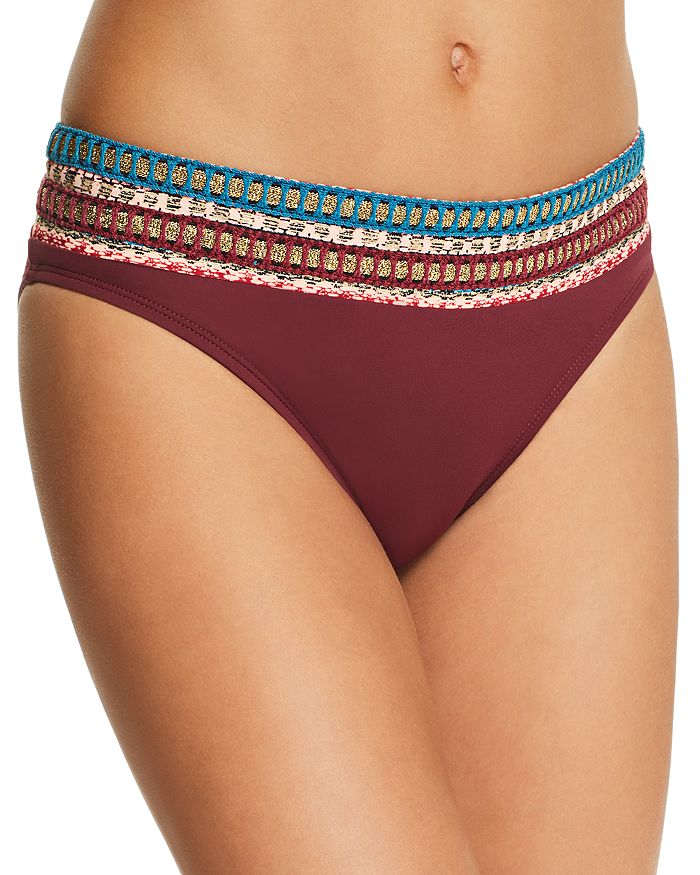 La Blanca - Running Stitch Hipster Bikini Bottom
