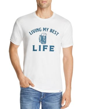 KID DANGEROUS LIVING MY BEST LIFE GRAPHIC TEE