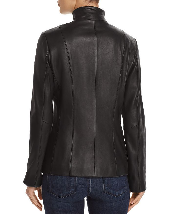 ae30a39ad Wing Collar Leather Jacket