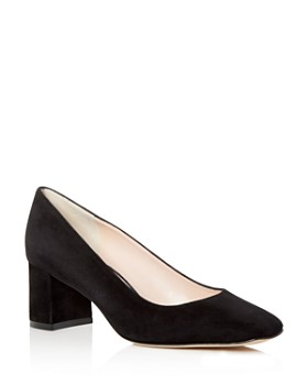 kate spade new york - Women's Kylah Suede Square Toe Pumps