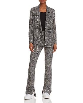 Anine Bing - Leopard-Print Pants