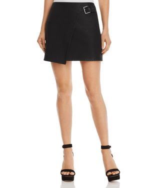 JACK BY BB DAKOTA Jack By Bb Dakota Fashion Killa Faux Leather Skirt in Black