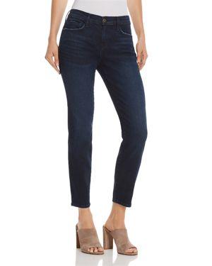 Frame Le Skinny De Jeanne Cropped Jeans in Lauretta