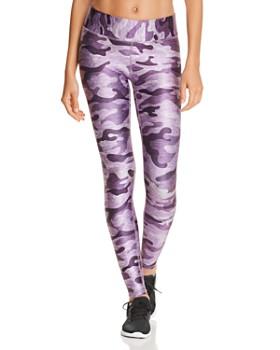 Terez - Ultra Violet Camo Leggings