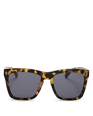 Illesteva Women's Los Feliz Square Sunglasses, 55mm