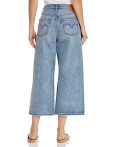 Levi's - High Water Wide Leg Jeans in Straight Up