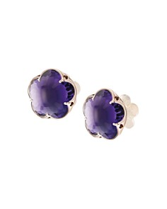 Pasquale Bruni 18K Rose Gold Bon Ton Amethyst Floral Stud Earrings - Bloomingdale's_0