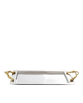 Michael Aram - Wisteria Gold Serving Tray