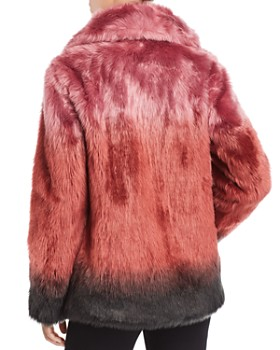 Unreal Fur - Flaming Lips Faux Fur Coat