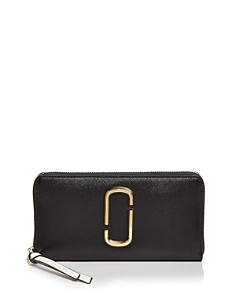 MARC JACOBS - Snapshot Standard Leather Continental Wallet