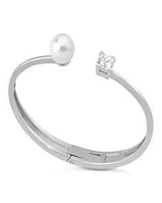 Majorica Simulated Pearl Hinge Bangle Bracelet - Bloomingdale's_0