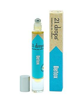 21 Drops - Detox Essential Oil Roll-On 0.3 oz.