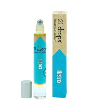 21 DROPS DETOX ESSENTIAL OIL ROLL-ON