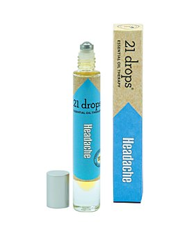 21 Drops - Headache Essential Oil Roll-On 0.3 oz.