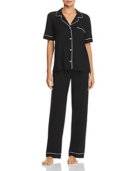 Eberjey - Gisele Short Sleeve Long Pant Pajama Set