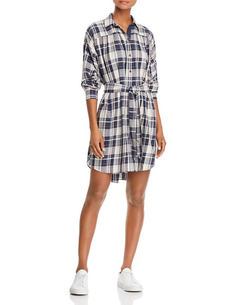 ATM Anthony Thomas Melillo - Plaid Shirt Dress