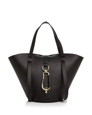 BELAY SMALL LEATHER TOTE