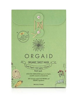 ORGAID - Organic Sheet Mask Gift Set